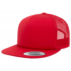 Кепка FlexFit 6005FF NO FOAM Trucker Red