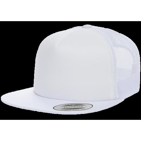 Кепка FlexFit 6005FF Trucker White