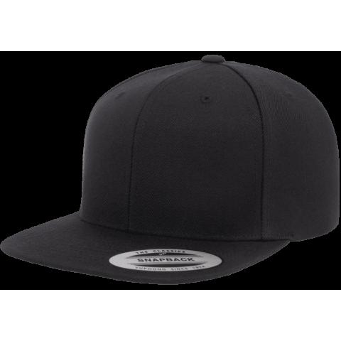 Кепка FlexFit 6089M - Classic Snapback All Black
