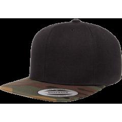 Кепка FlexFit 6089TC Classic Snapback Black/Camo