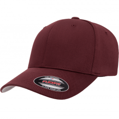 Кепка FlexFit 6277 Wooly Combed Maroon