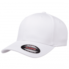 Кепка FlexFit 6277 Wooly Combed White