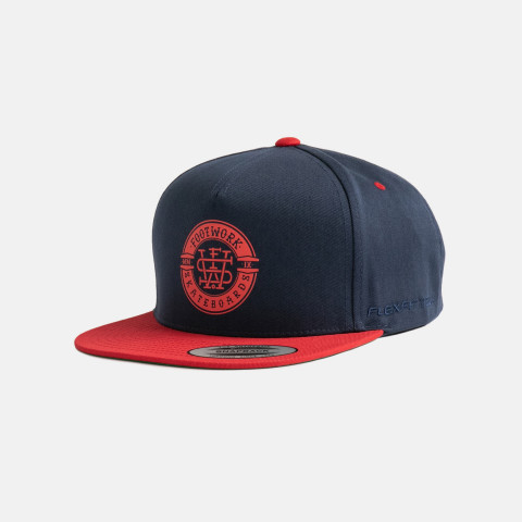 Кепка Footwork Heritage Navy Red