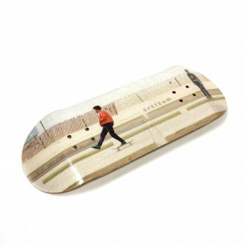 Дека для фингерборда Systeam - This Is Skateboarding